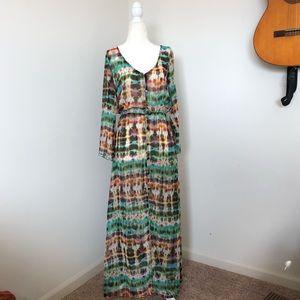 Dresses & Skirts - Sheer Rainbow Duster/Dress